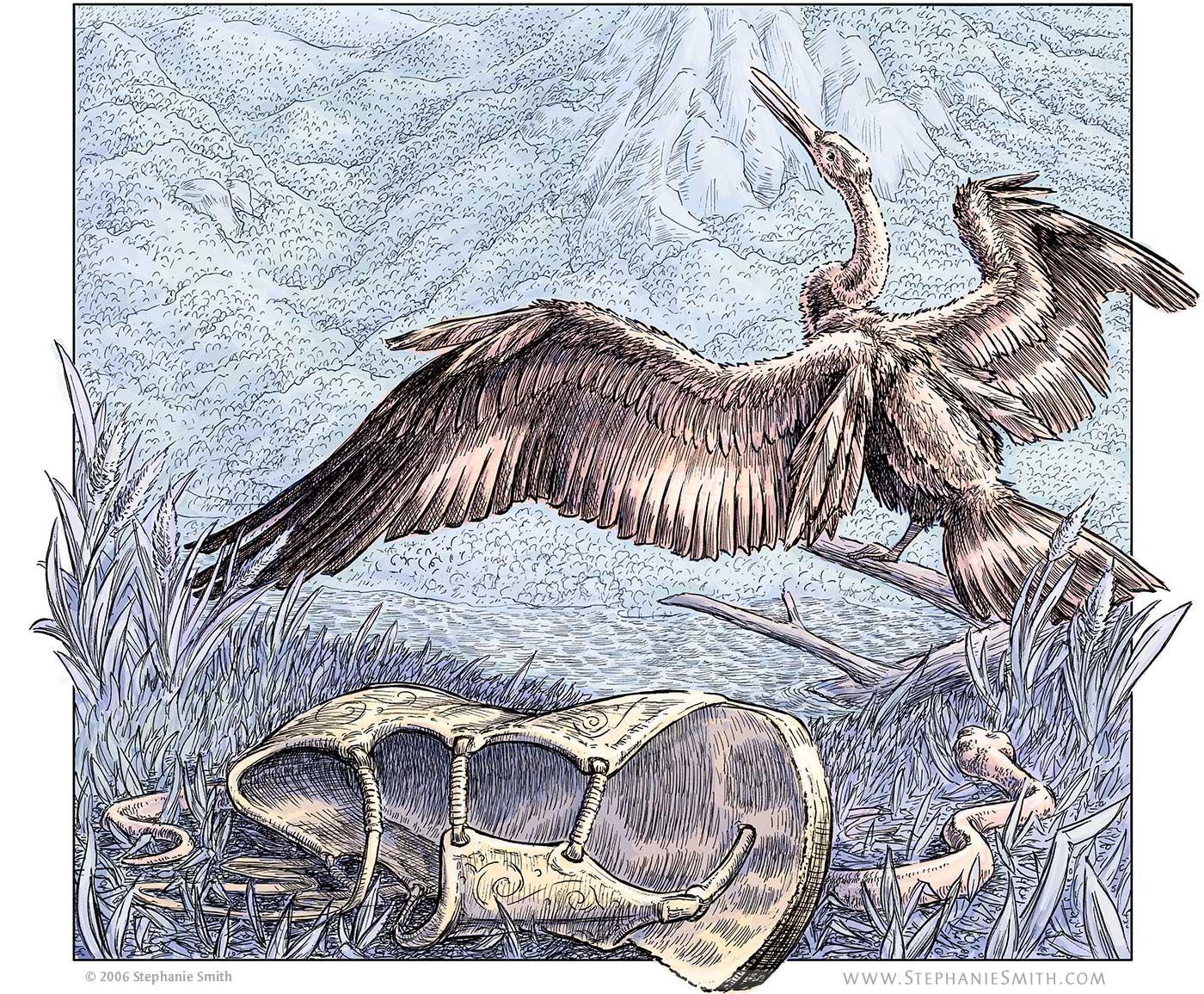 Artwork of Aesacus and Hesperie