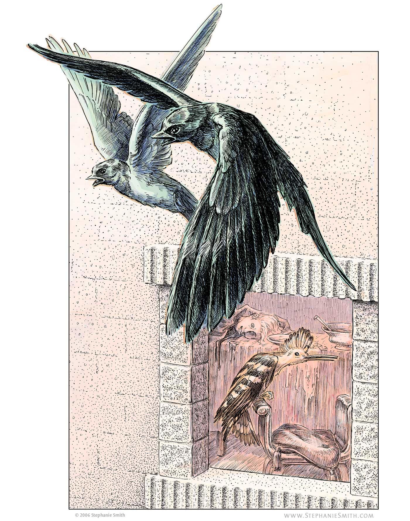 Artwork of Procne and Philomena